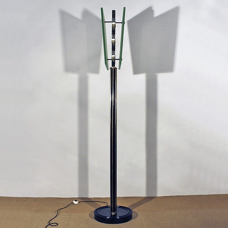 Italian art deco floor lamp 1930s for sale at pamono for 1930s floor lamp