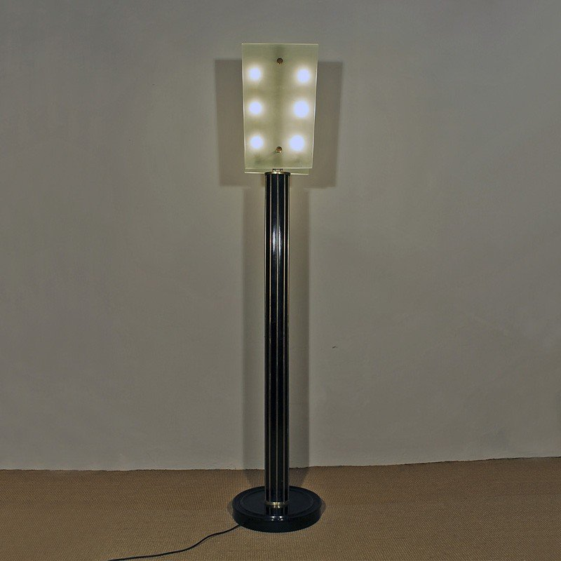 Italian Art Deco Floor Lamp, 1930s for sale at Pamono