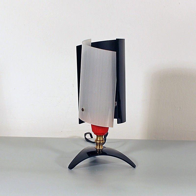 kleine vintage tischlampe 1950er bei pamono kaufen. Black Bedroom Furniture Sets. Home Design Ideas