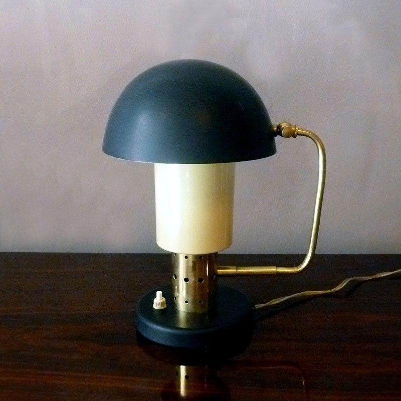 petite lampe de bureau vintage italie 1950s en vente sur pamono. Black Bedroom Furniture Sets. Home Design Ideas