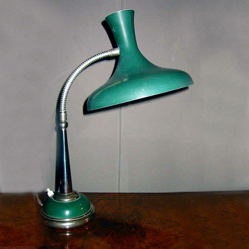 Vintage Green Desk Lamp 1950s 8 866 00 Per Piece