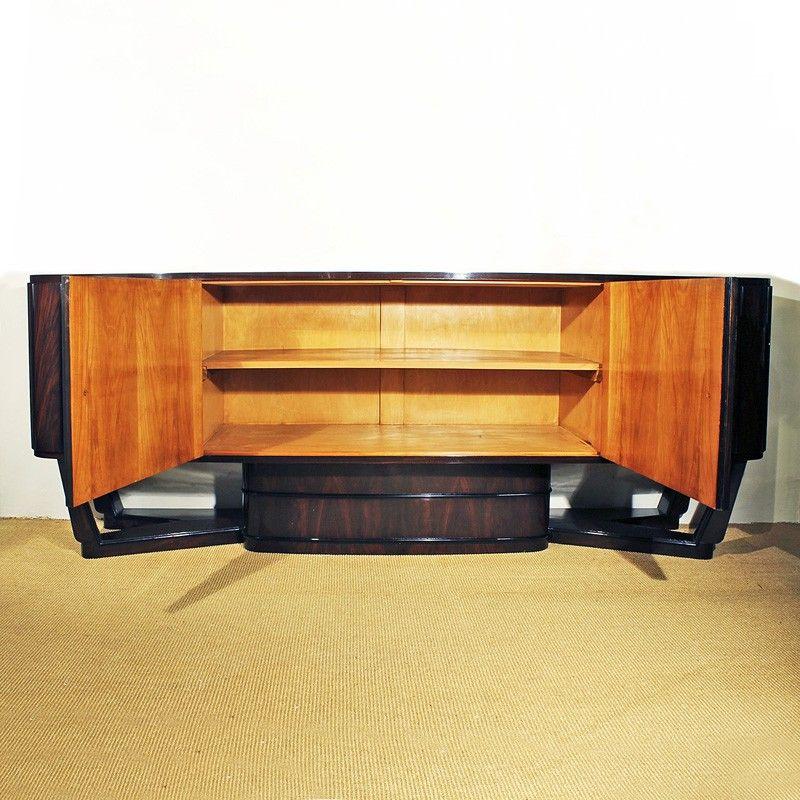 Art deco italian sideboard 1930s for sale at pamono - Deko sideboard ...