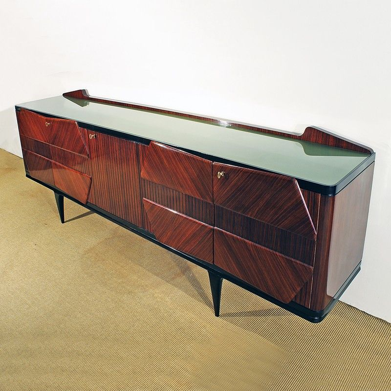 vintage italian sideboard 1950s for sale at pamono. Black Bedroom Furniture Sets. Home Design Ideas