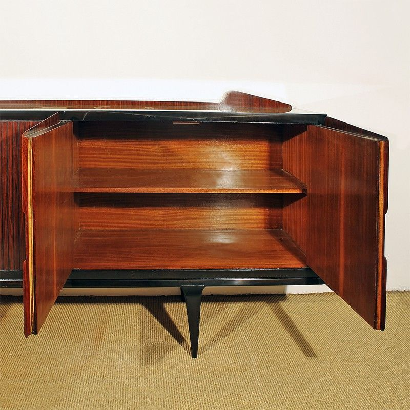 italienisches vintage sideboard 1950er bei pamono kaufen. Black Bedroom Furniture Sets. Home Design Ideas