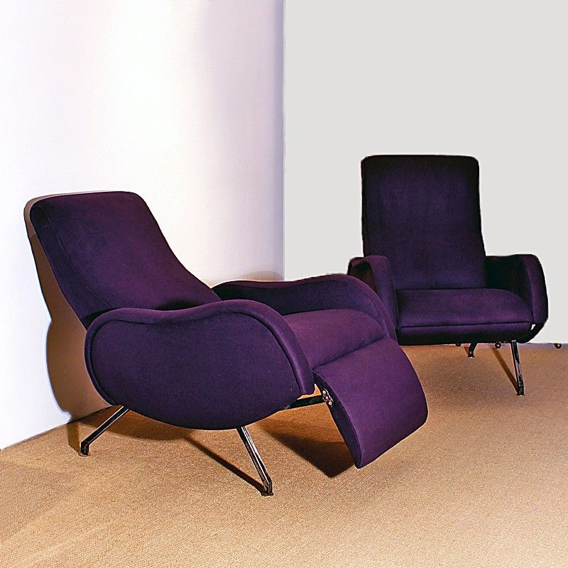 italienische vintage sessel 1960er 2er set bei pamono kaufen. Black Bedroom Furniture Sets. Home Design Ideas