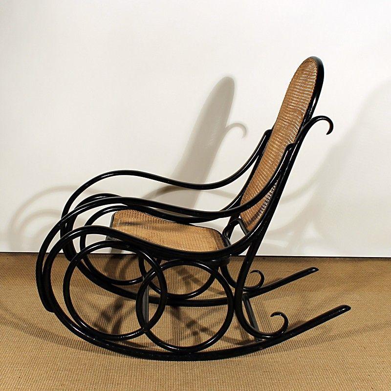 schaukelst hle von thonet 1920er 2er set bei pamono kaufen. Black Bedroom Furniture Sets. Home Design Ideas