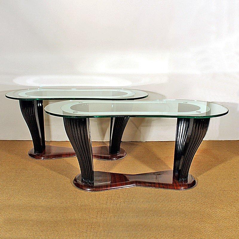 Coffee Table By Vittorio Dassi For Dassi Mobili Moderni Di Fontana Arte 1940s For Sale At Pamono