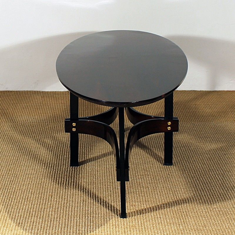 Vintage Oval Coffee Tables: Vintage Italian Oval Coffee Table, 1960s For Sale At Pamono
