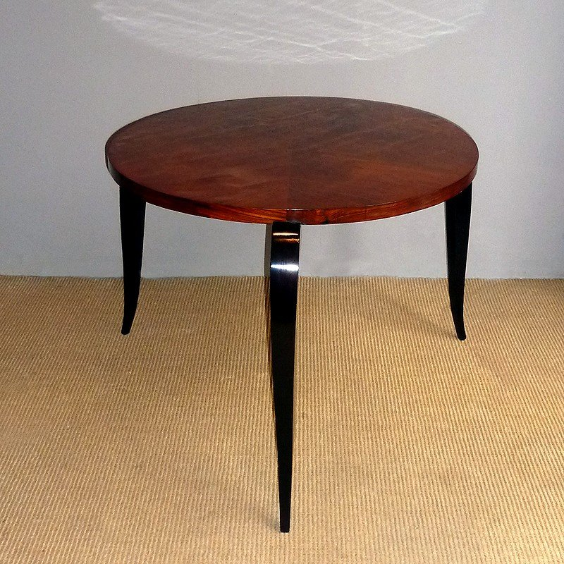 Vintage Round Side Table, 1940s for sale at Pamono
