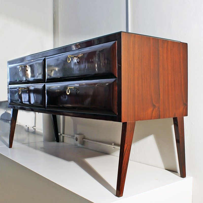 italienische vintage kommode 1950er bei pamono kaufen. Black Bedroom Furniture Sets. Home Design Ideas