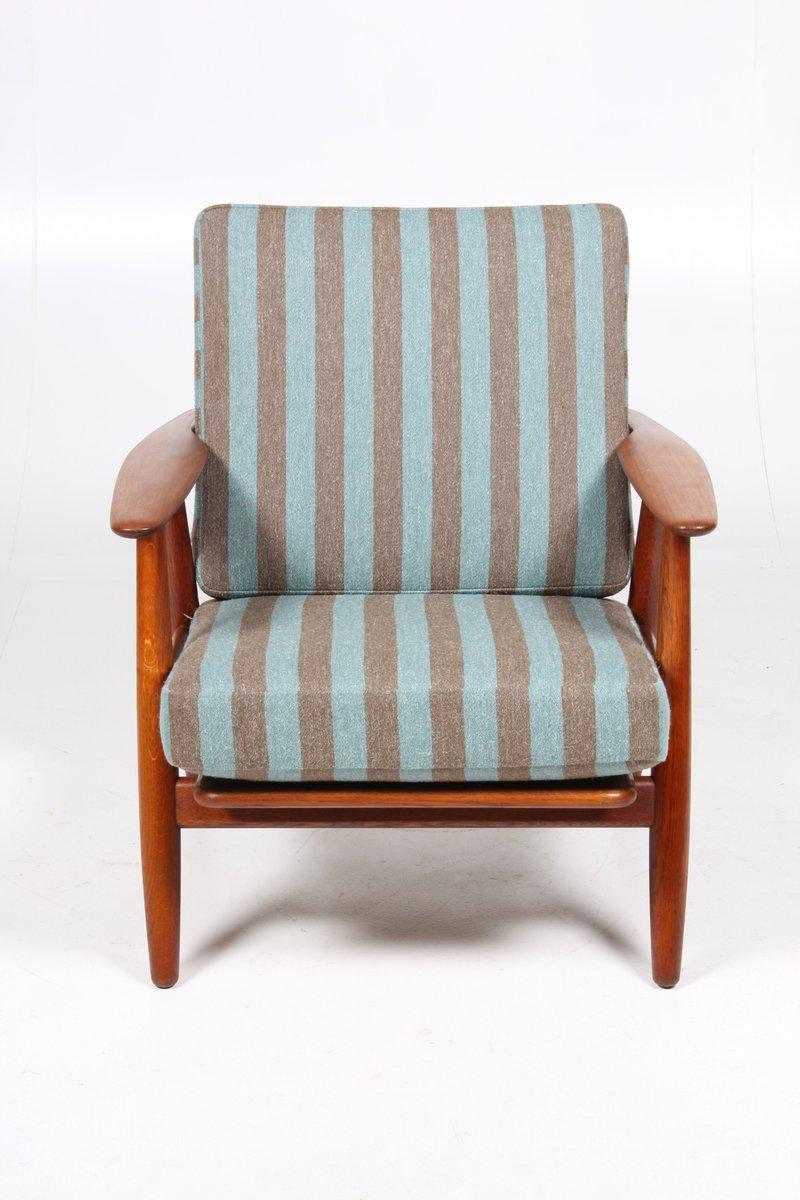 ge240 sessel von hans j wegner 1950er bei pamono kaufen. Black Bedroom Furniture Sets. Home Design Ideas