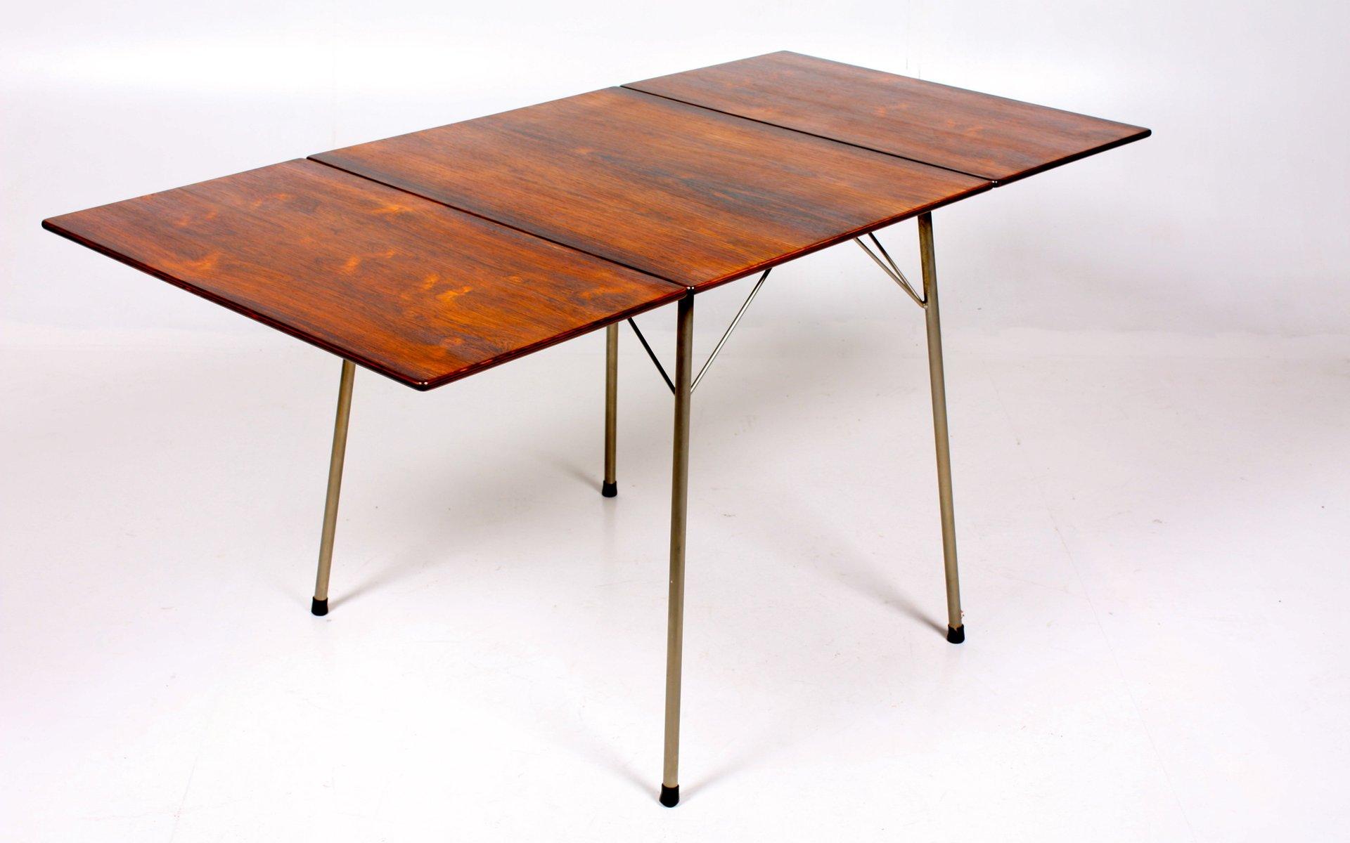 esstisch von arne jacobsen f r fritz hansen bei pamono kaufen. Black Bedroom Furniture Sets. Home Design Ideas