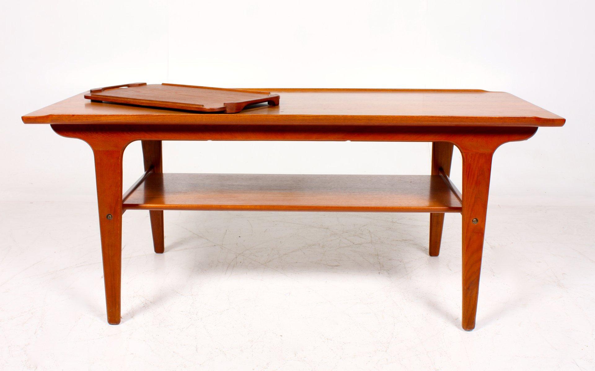 Vintage Teak Coffee Table For Sale At Pamono