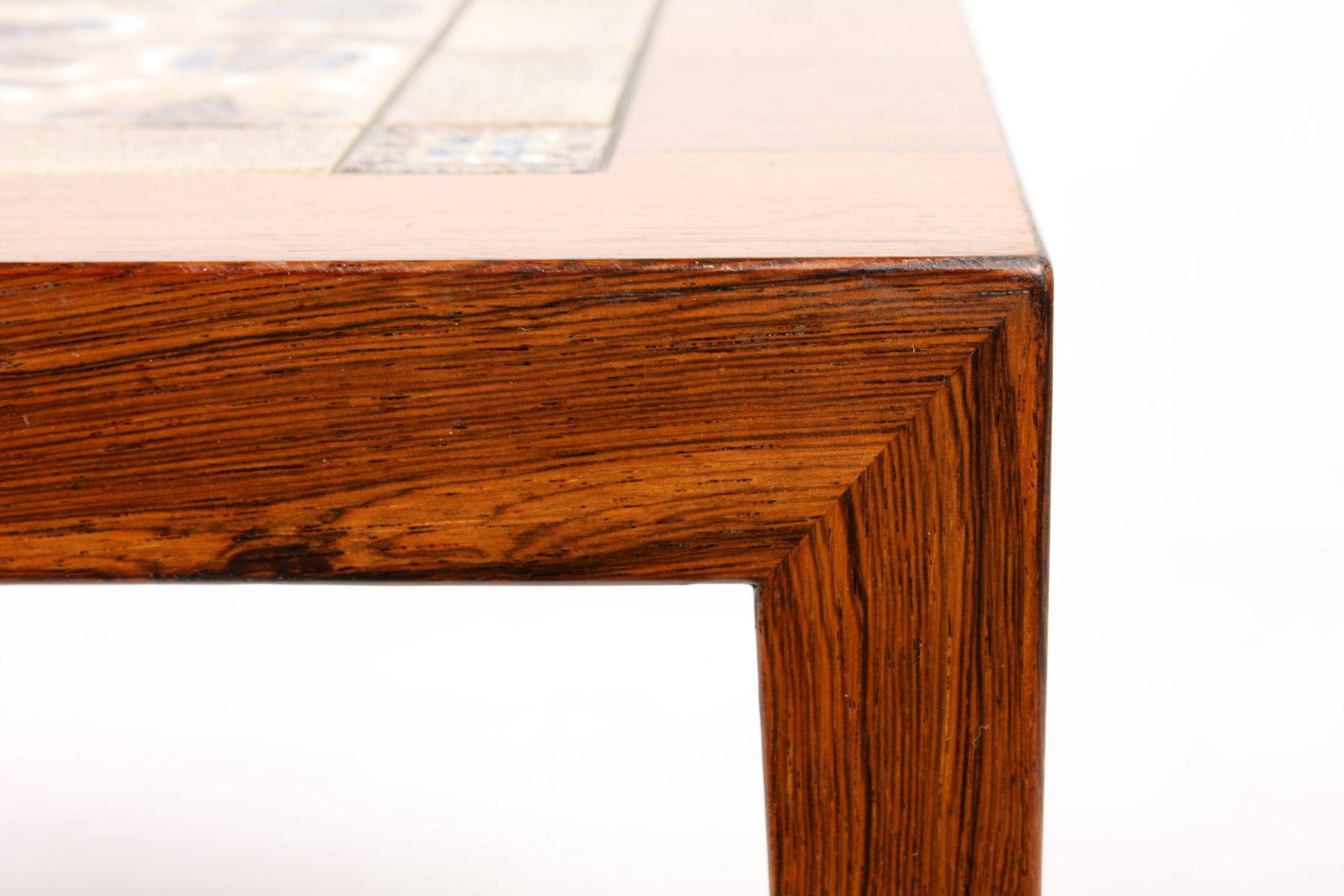 Brazilian Rosewood Coffee Table By Severin Hansen Jr For