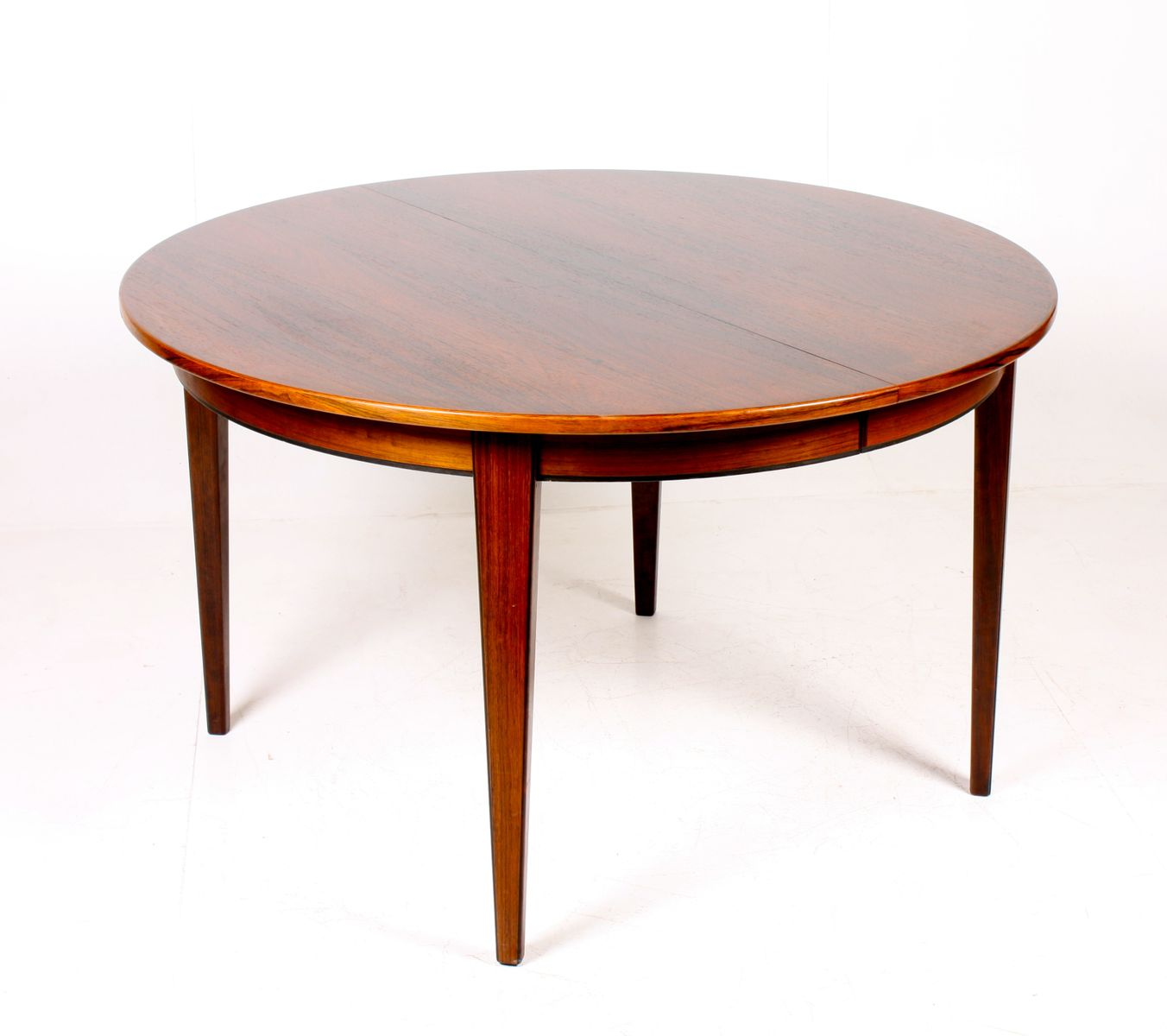 Rosewood Dining Table By Gunni Oman For Oman JUN 1950s For Sale At