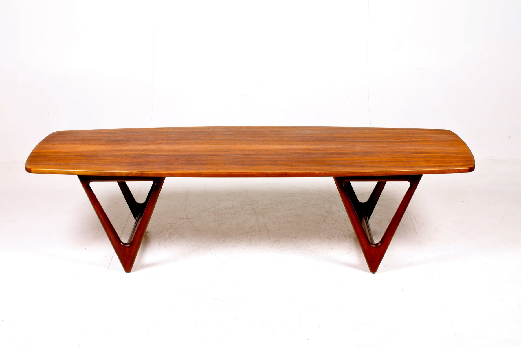 Mid century danish coffee table from jason furniture for Mid century modern danish furniture