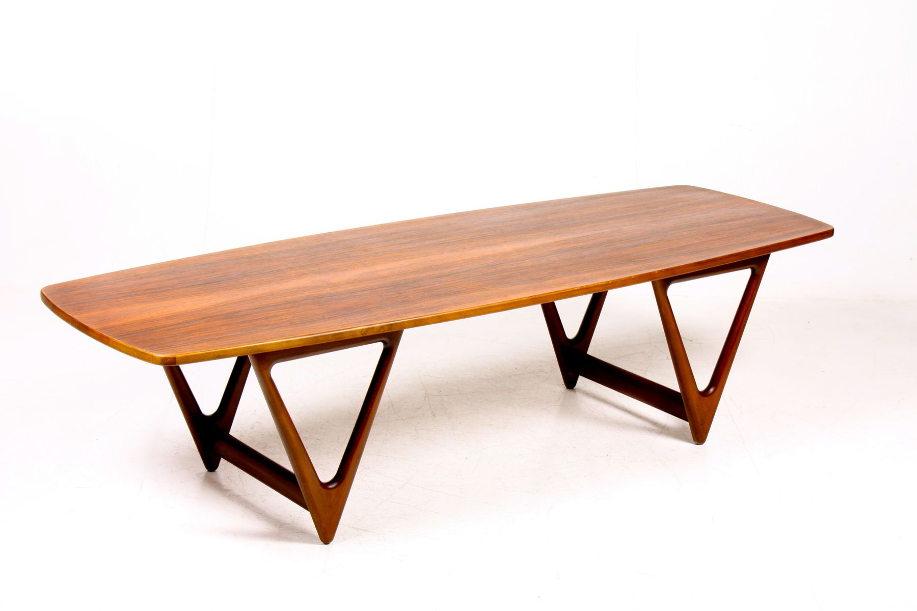 Mid century danish coffee table from jason furniture for Furniture 1950