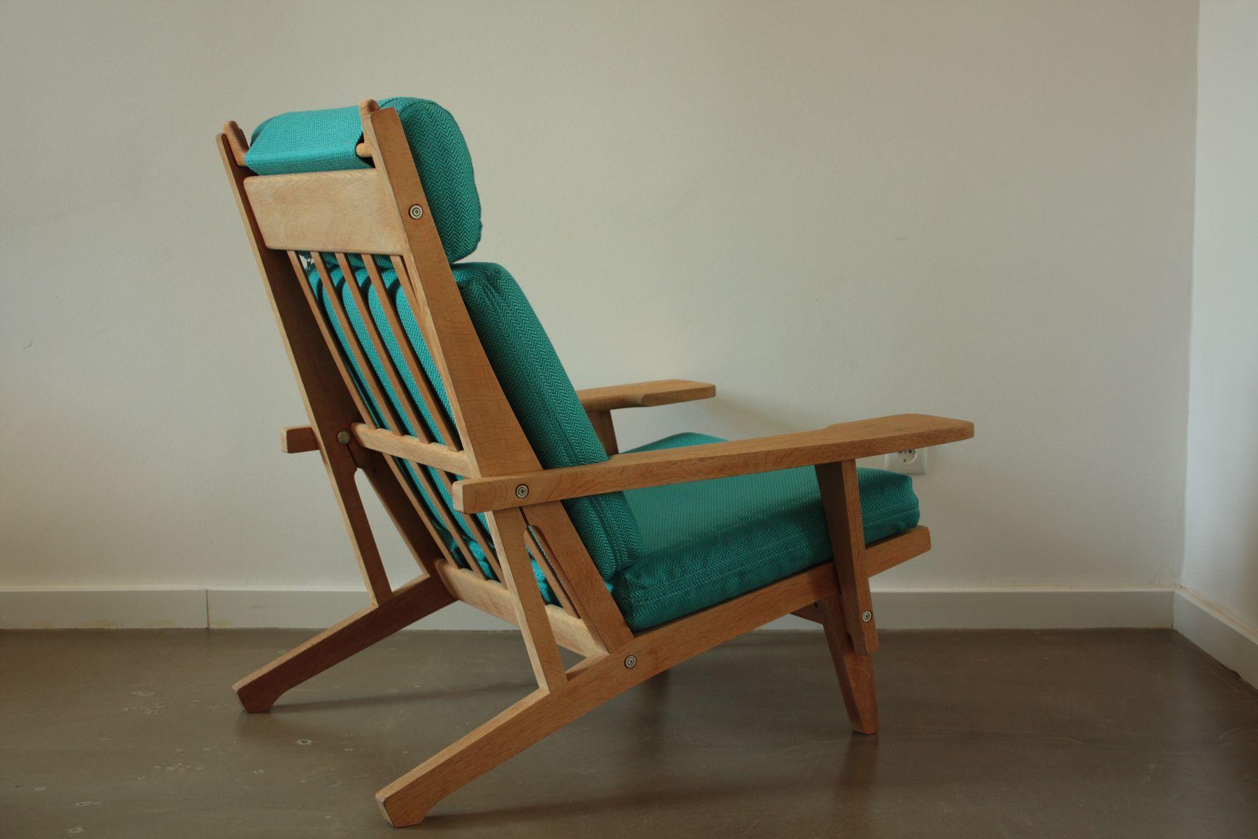 ge 375 easy chair by hans j wegner for getama for sale at. Black Bedroom Furniture Sets. Home Design Ideas