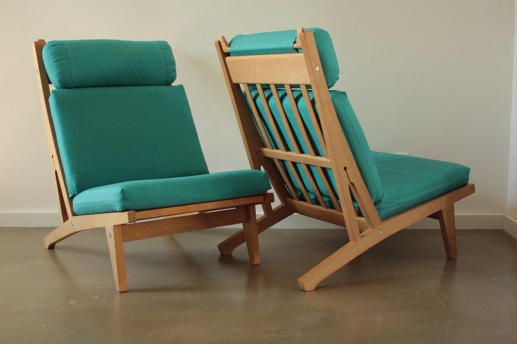 ge 375 sessel von hans j wegner f r getama 2er set bei. Black Bedroom Furniture Sets. Home Design Ideas