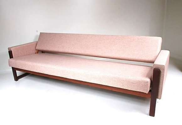 Mx 01 three seater sofa bed by yngve ekstrom for pastoe for Sofa bed germany