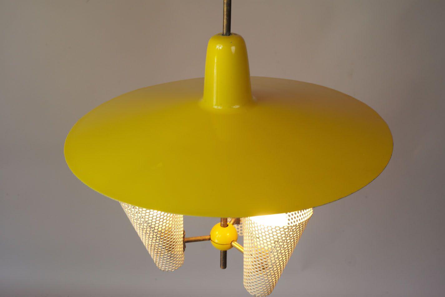 vintage suspension lamp 1950s for sale at pamono. Black Bedroom Furniture Sets. Home Design Ideas
