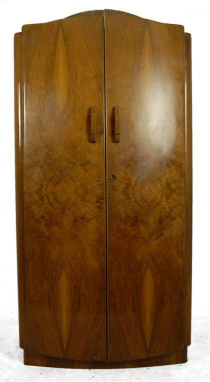 1930s Wardrobes: Vintage Walnut Wardrobe, 1930s For Sale At Pamono