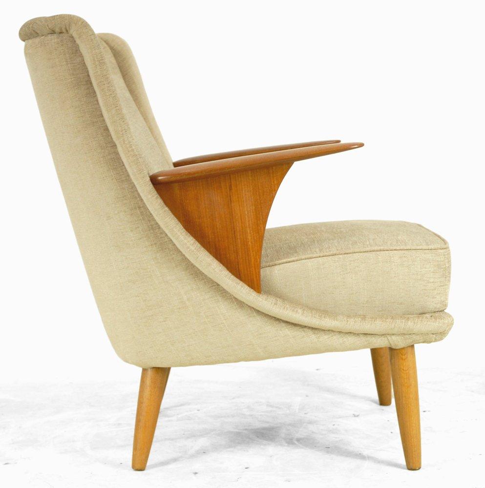 danish teak armchair 1950s for sale at pamono