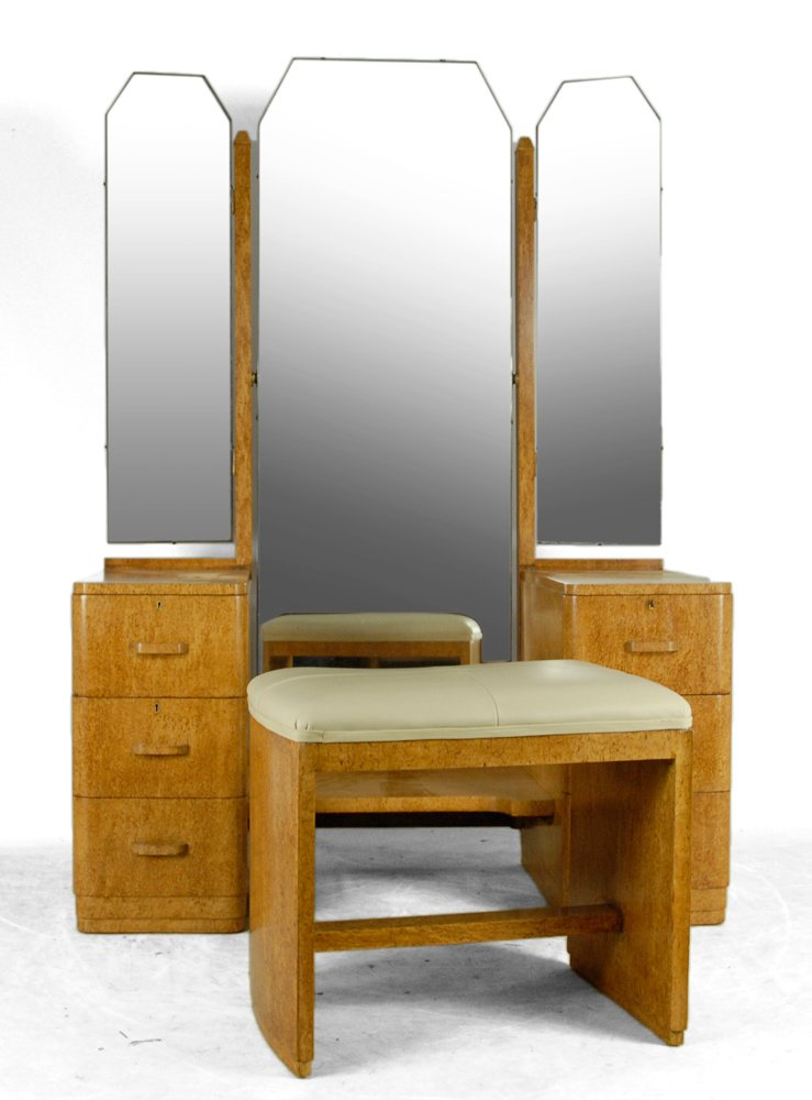 Art deco dressing table 1930s for sale at pamono for Meuble art deco 1930