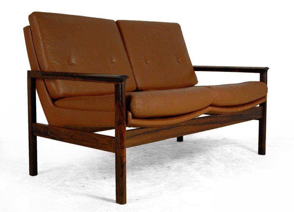 vintage danish rosewood sofa 1980s for sale at pamono