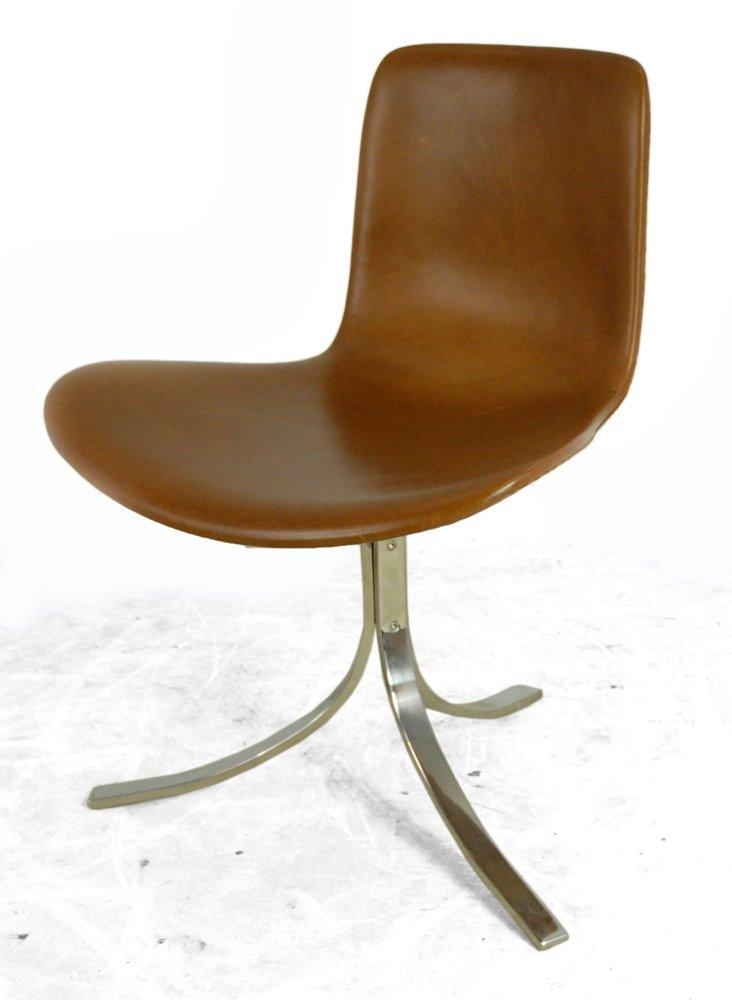 vintage schreibtischstuhl von e kold christensen f r poul kjaerholm 1970er bei pamono kaufen. Black Bedroom Furniture Sets. Home Design Ideas