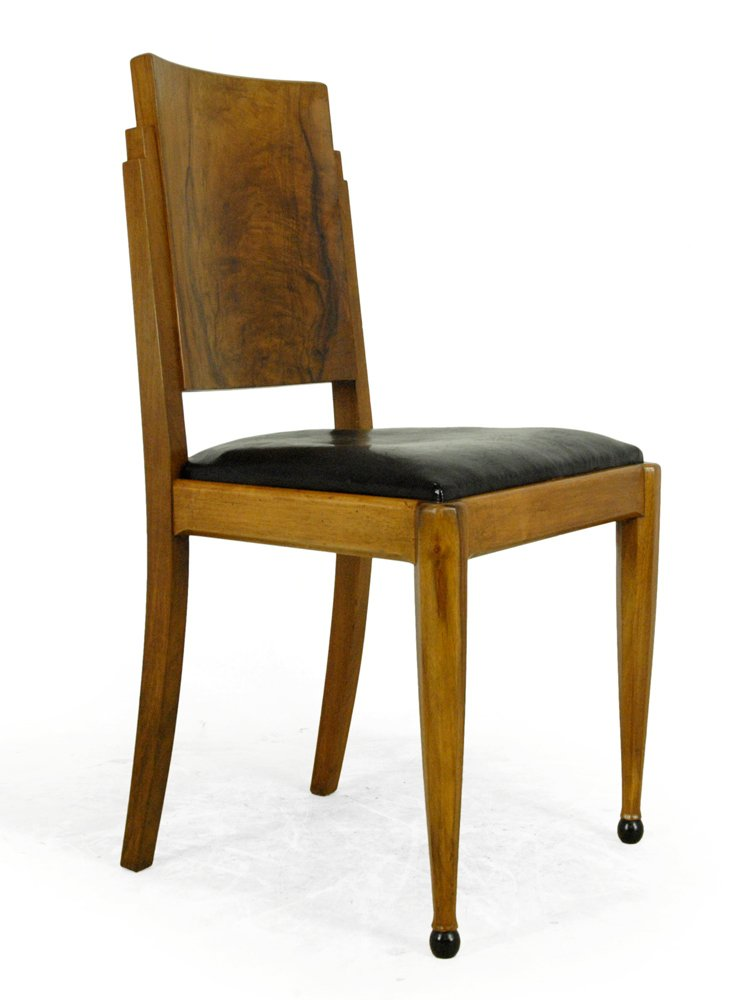 art deco dining chairs set of 6 for sale at pamono art deco dining 13