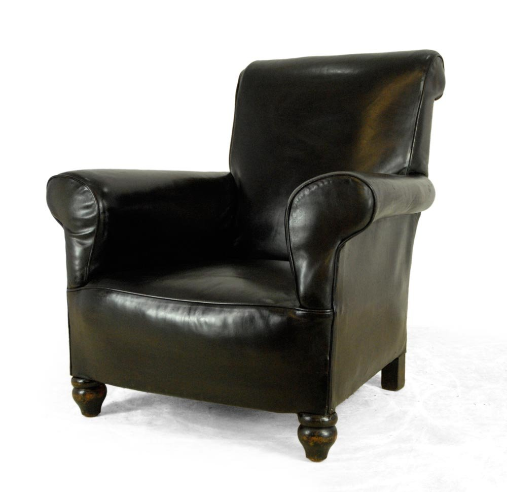 vintage leather armchairs for sale black vintage leather armchair 1940s for at pamono 8837