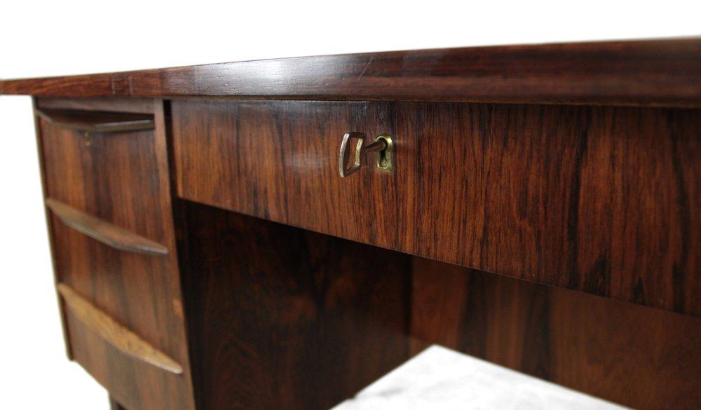 mid century palisander schreibtisch 1960er bei pamono kaufen. Black Bedroom Furniture Sets. Home Design Ideas