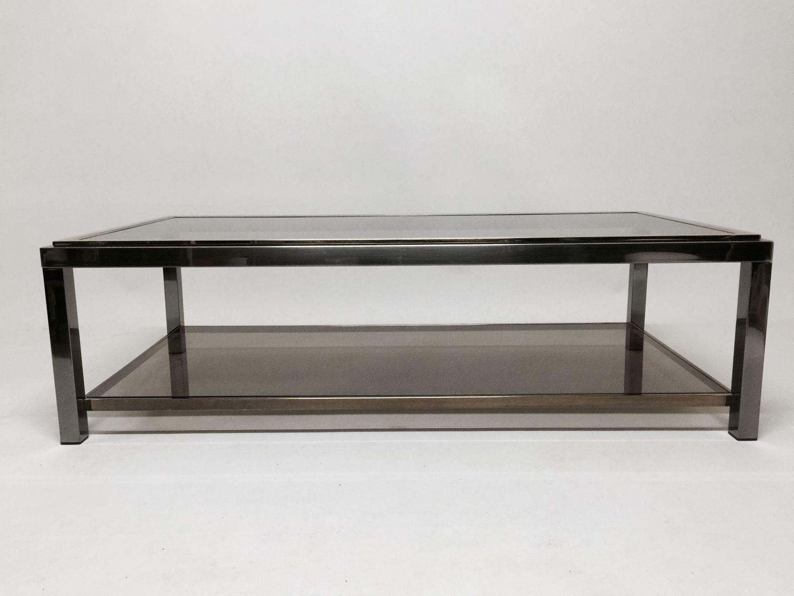Table basse de roche bobois france 1970s en vente sur pamono for Roche bobois table basse