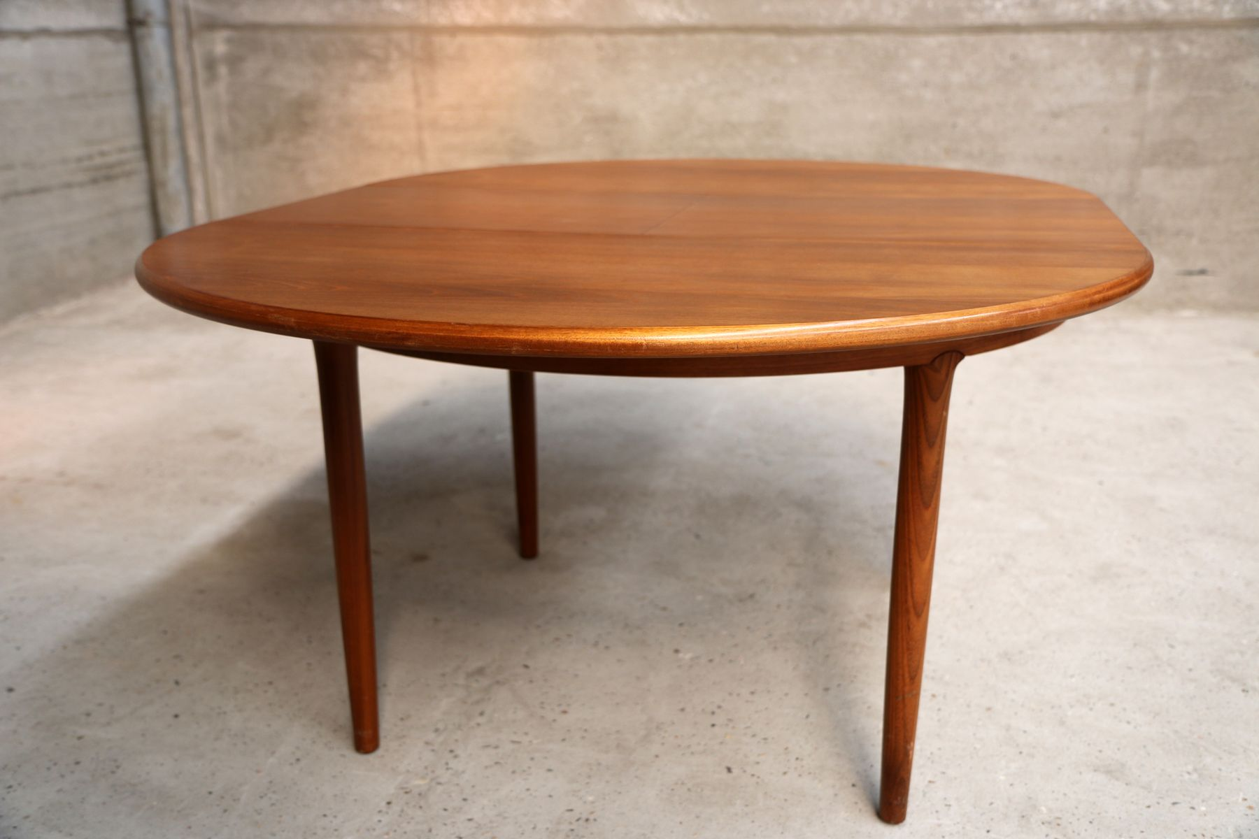 Scandinavian Style Vintage Extending Dining Table For Sale At Pamono