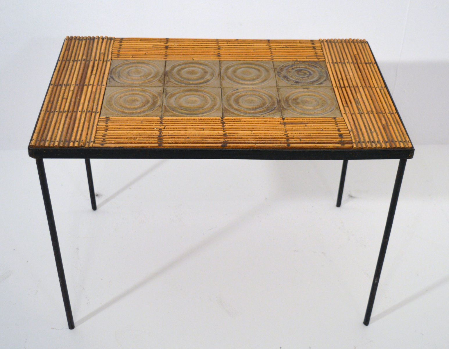 Vintage french coffee table 1950s for sale at pamono geotapseo Choice Image