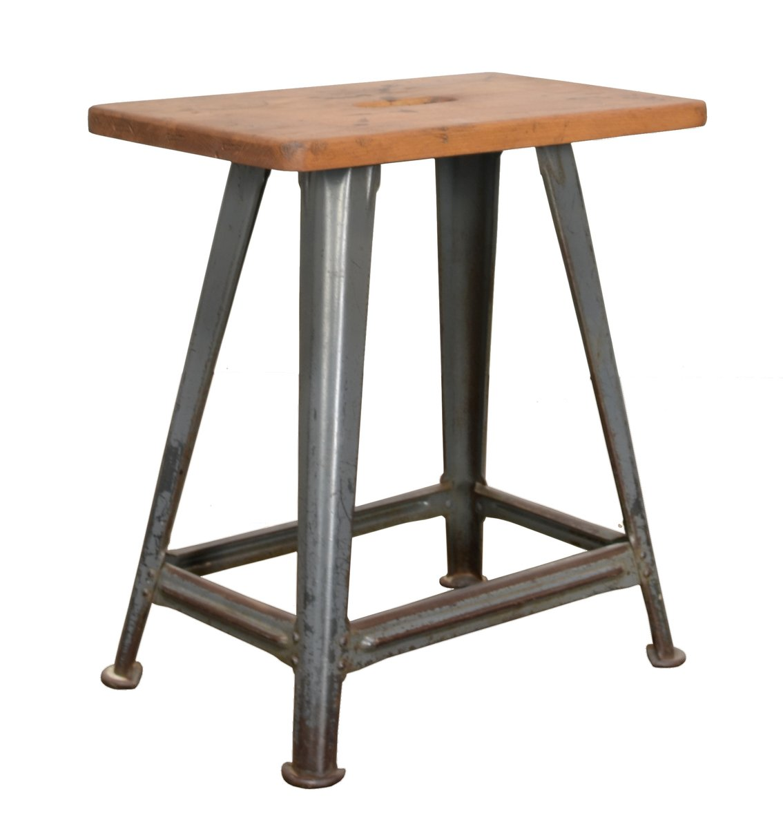 vintage workshop stool from rowac for sale at pamono. Black Bedroom Furniture Sets. Home Design Ideas