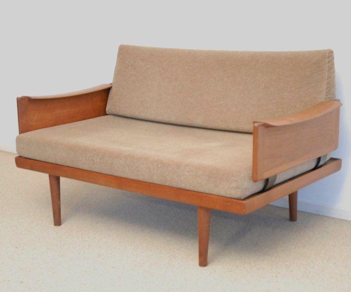 skandinavisches 2 sitzer sofa 1960er bei pamono kaufen. Black Bedroom Furniture Sets. Home Design Ideas