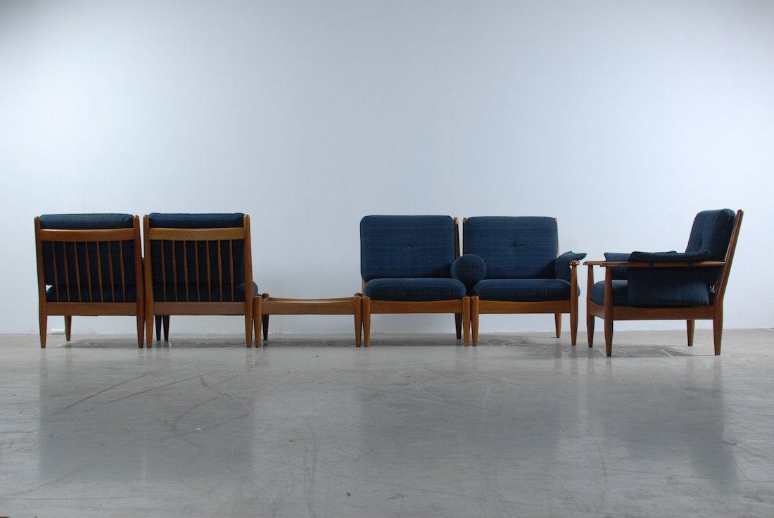 sofa set mit tisch 1960er bei pamono kaufen. Black Bedroom Furniture Sets. Home Design Ideas