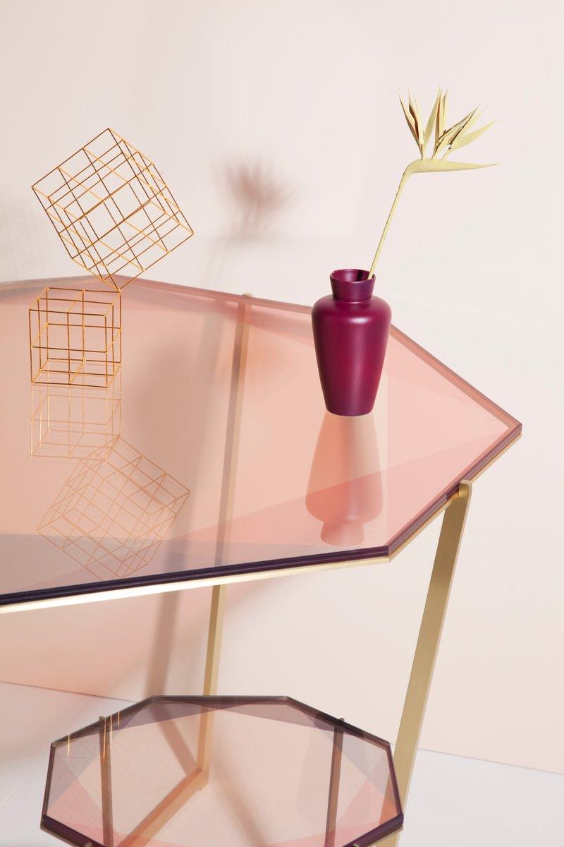 Octagonal Gem Dining Table by Debra Folz Design for sale  : octagonal gem dining table by debra folz design 5 from www.pamono.co.uk size 800 x 1200 jpeg 56kB
