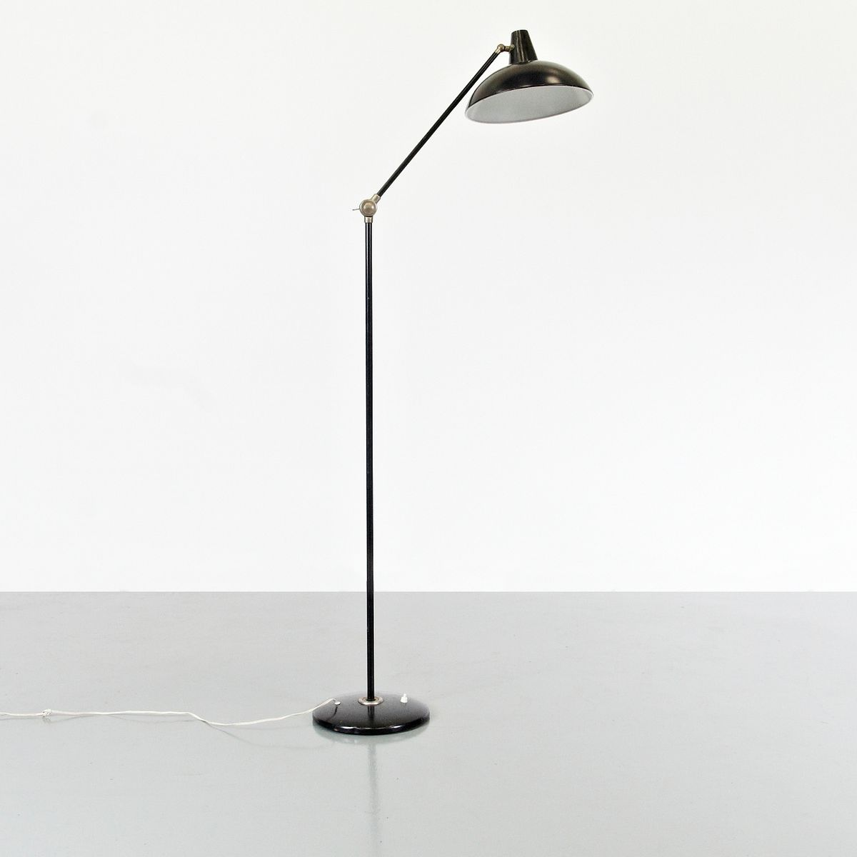 Floor lamp by wim rietveld for gispen 1950s for sale at for 1950 floor lamp