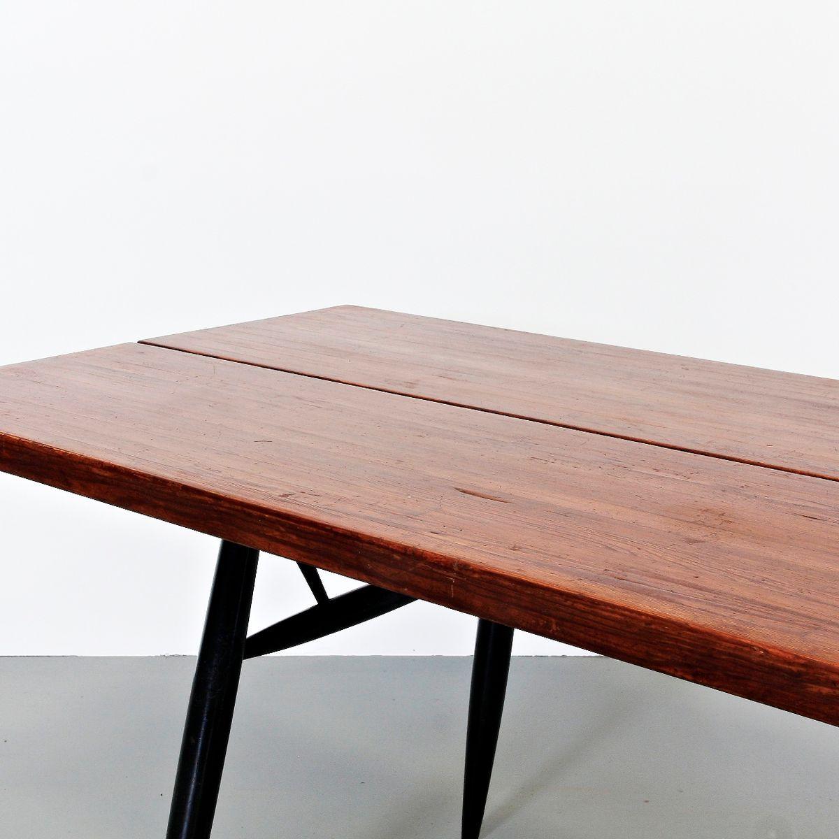 Table Top 1955: Pirkka Table By Ilmari Tapiovaara For Laukaan Puu, 1955