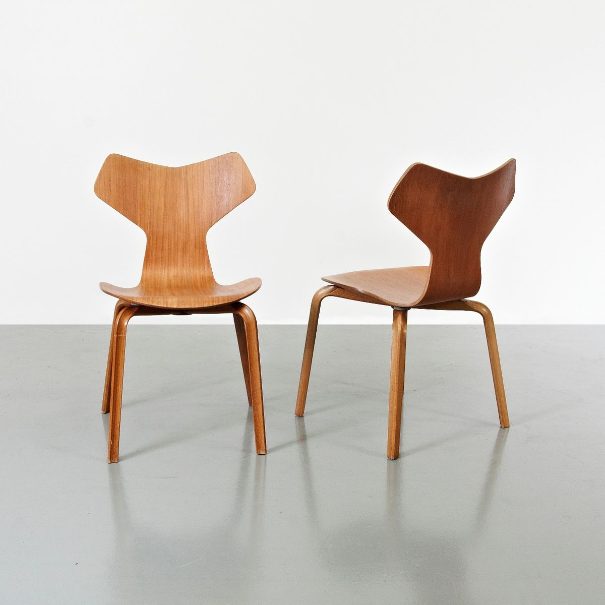 Grand Prix Chairs By Arne Jacobsen For Fritz Hansen 1957