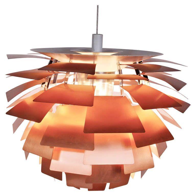 artichoke lampe von poul henningsen f r louis poulsen 1960er bei pamono kaufen. Black Bedroom Furniture Sets. Home Design Ideas