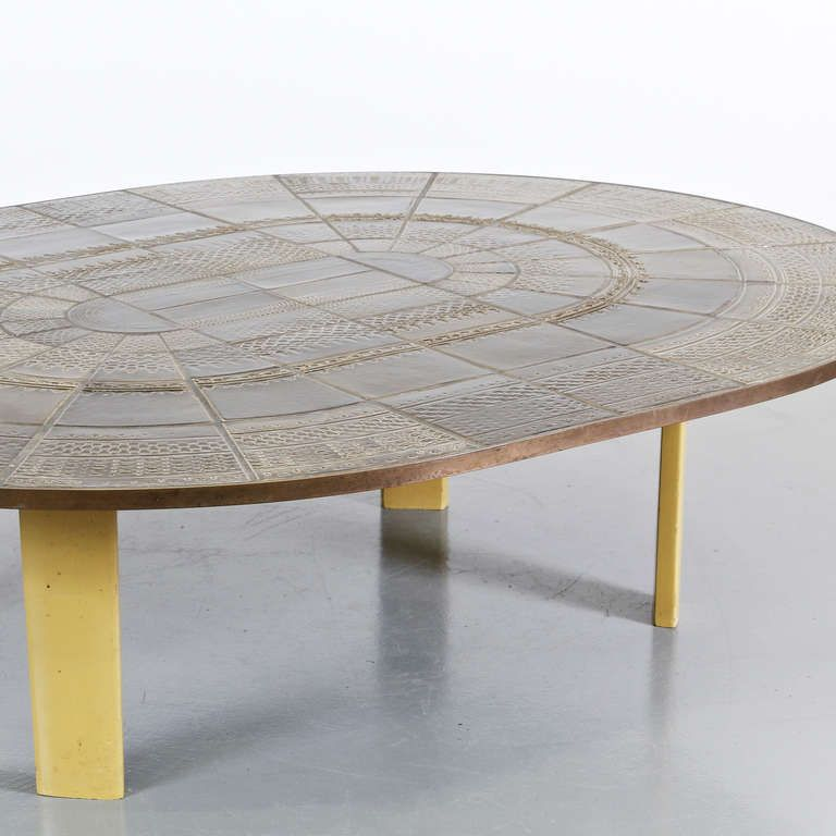 Couchtisch von Bjørn Wiinblad für Wiinblad Studio, 1960er