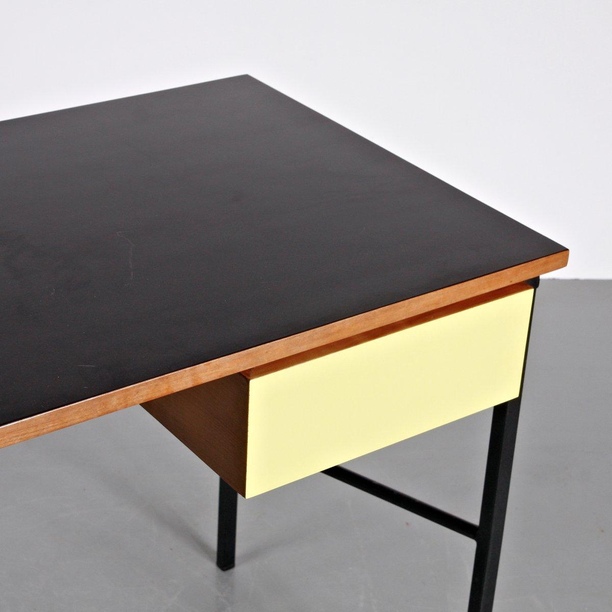 bureau cm174 par pierre paulin pour thonet 1956 en vente sur pamono. Black Bedroom Furniture Sets. Home Design Ideas