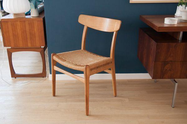 modell ch23 stuhl von hans wegner f r carl hansen bei pamono kaufen. Black Bedroom Furniture Sets. Home Design Ideas