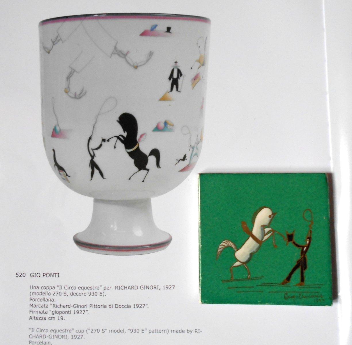 Art deco ceramic tile by gio ponti for richard ginori 1933 for price 66900 regular price 71800 dailygadgetfo Images