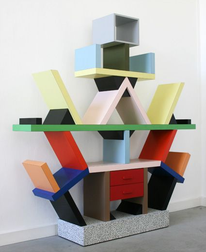 Carlton Bookcase By Ettore Sotts For Memphis Milano 1981 At Pamono