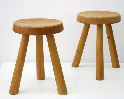 Tripod Stool By Charlotte Perriand 1960s For Sale At Pamono